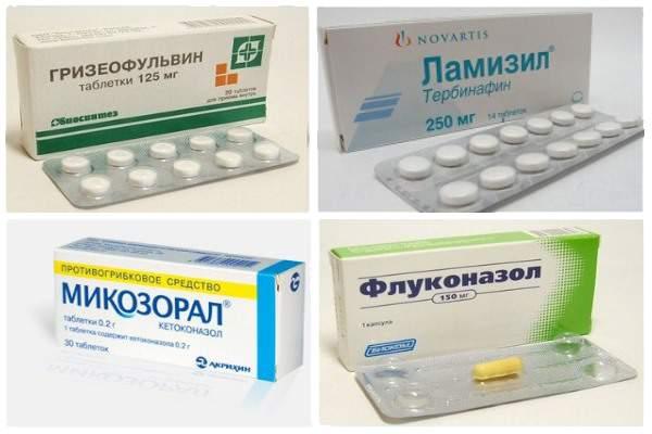 Противогрибковые припараты